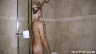 Ma nana me chevauche après sa douche